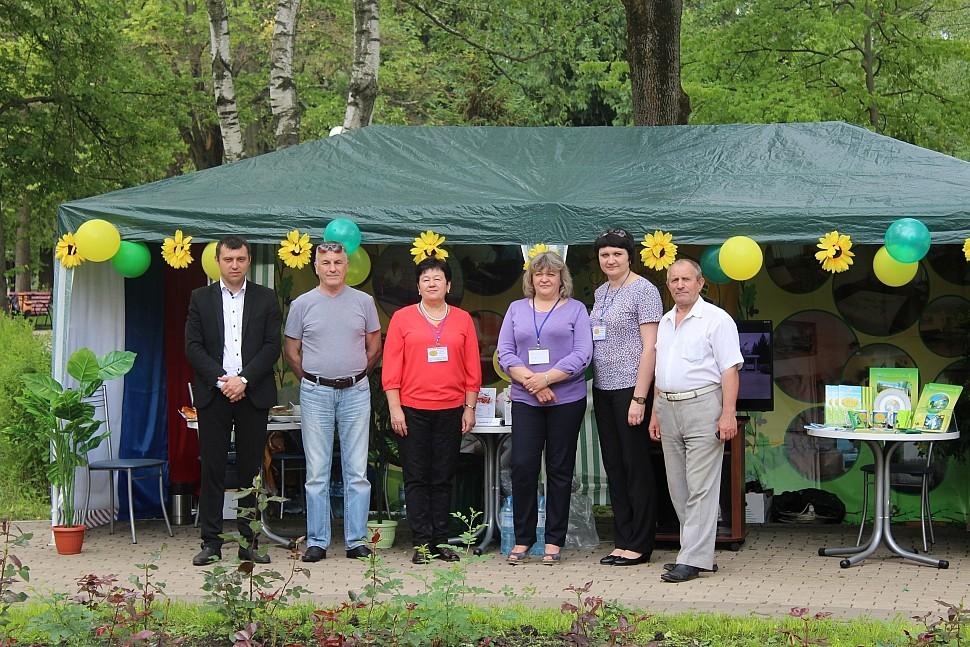 Участие санатория «Дубравушка» в презентации достижений и культуры Корочанского района