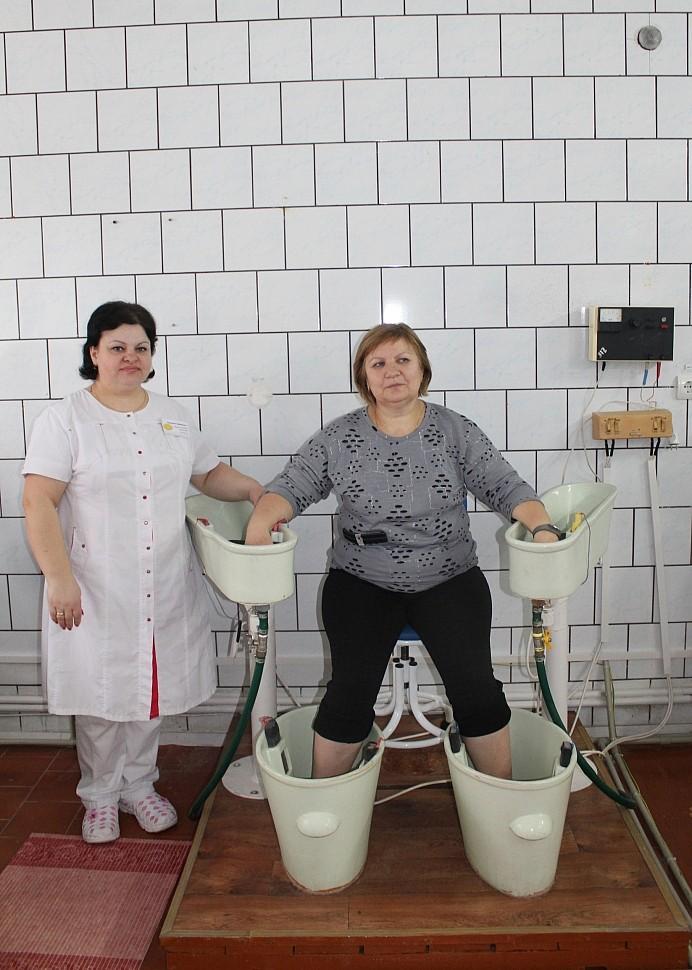 Четырёхкамерная ванна в санатории