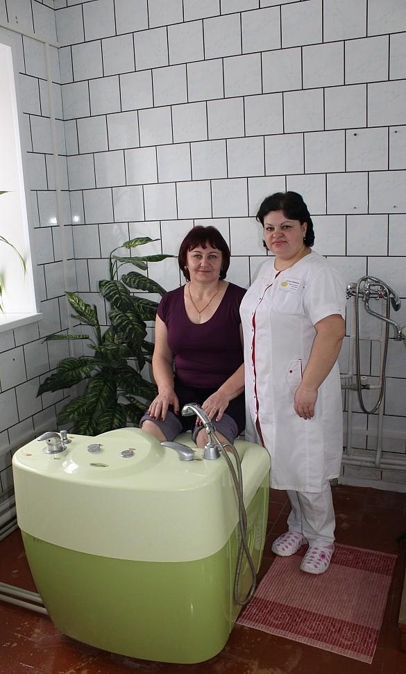 """Санаторий """"Дубравушка"""" приступил к отпуску процедуры """"Вихревые ванны"""""""