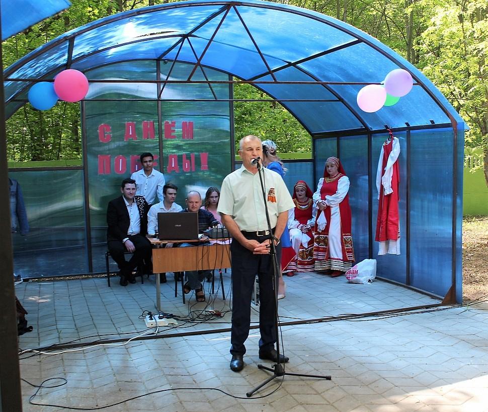 Праздничный концерт, посвящённый 73-й годовщине Победы в Великой Отечественной войне в санатории «Дубравушка»